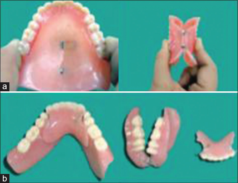 Dentures liner plastic strip sorry